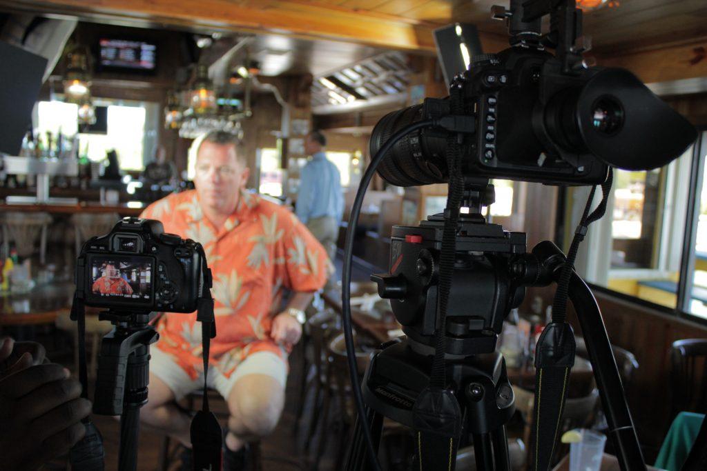 Videographer Prepping Camera Gear 32