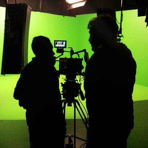 Videographer Prepping Camera Gear 17