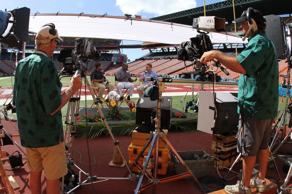 camera crew in Denver