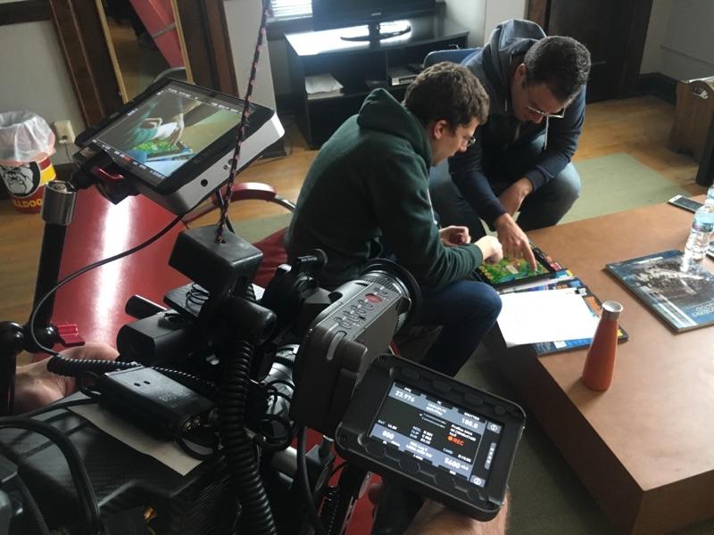 Videographer Prepping Camera Gear 65