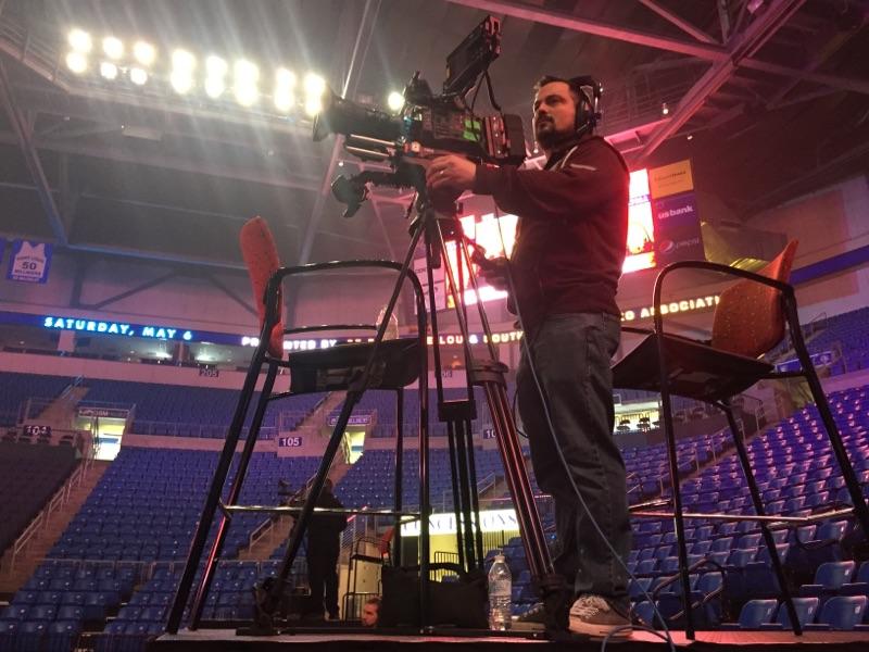 Videographer Prepping Camera Gear 66