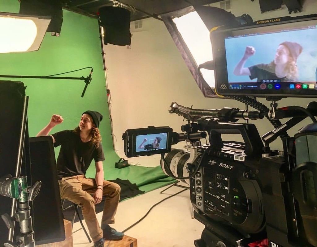 filming green screen - Beverly Boy Productions