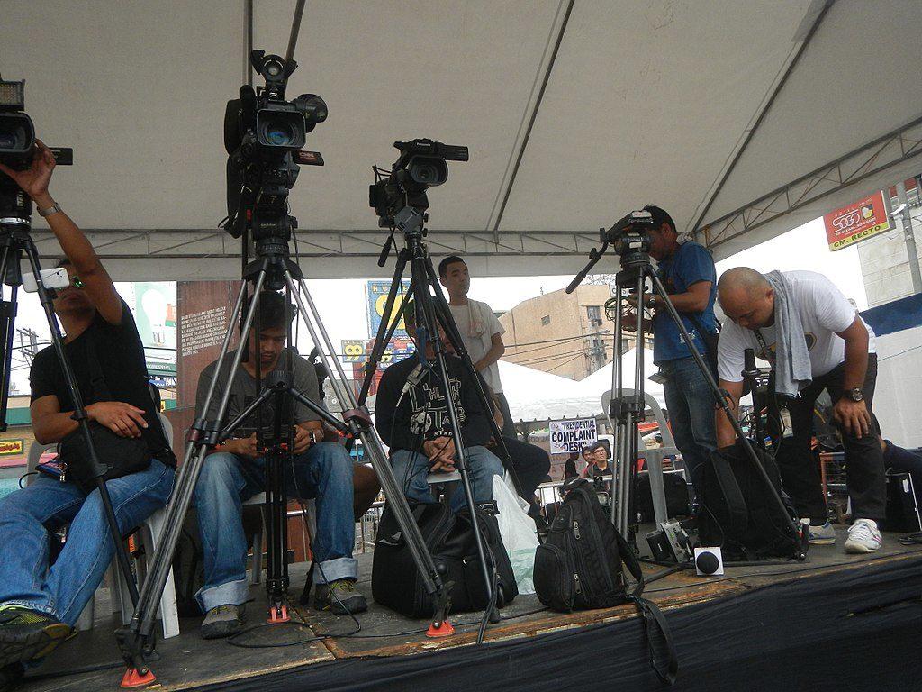 Manila camera crew