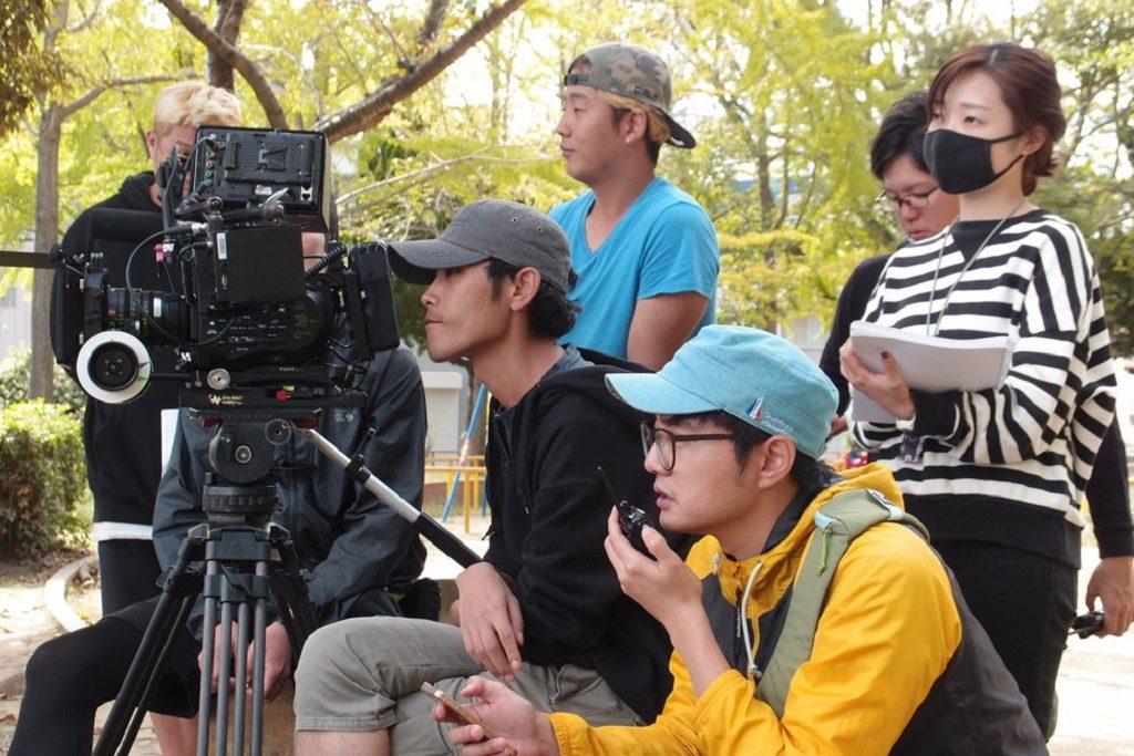 Camera Crew in Osaka