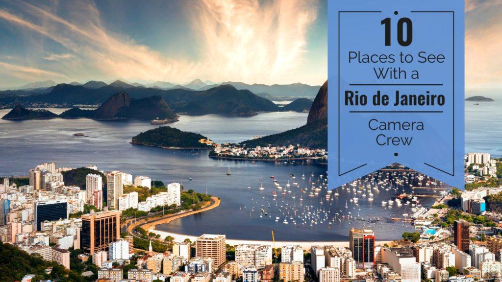 Camera Crew in Rio de Janeiro