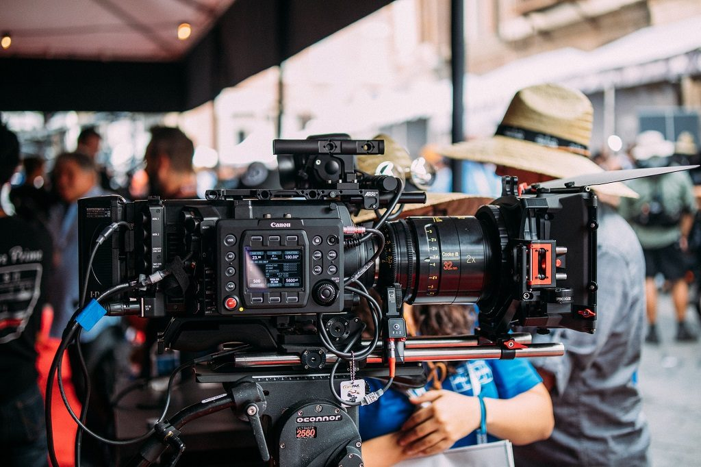 Camera Crew in Sao Paulo