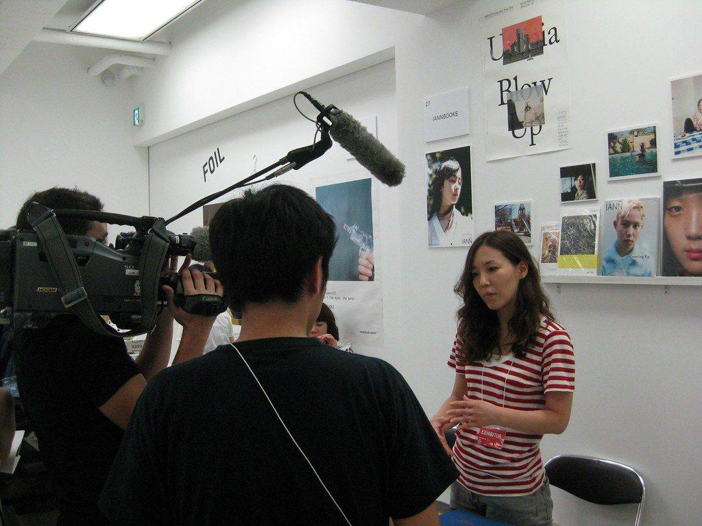 Camera Crew in Tokyo