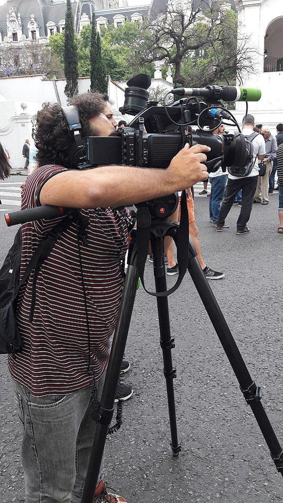Camera Crew in Buenos Aires
