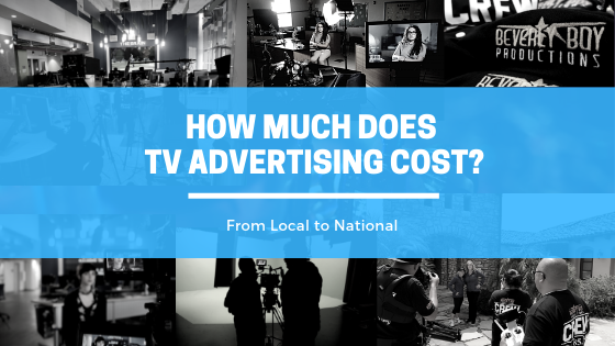how much does TV advertising cost