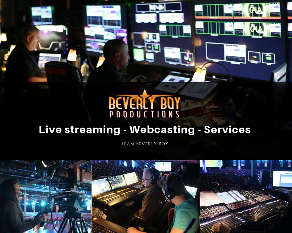 Live streaming - webcasting - services