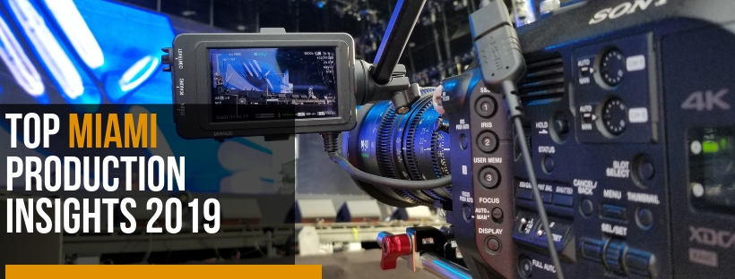 Top Miami video production insights 2019
