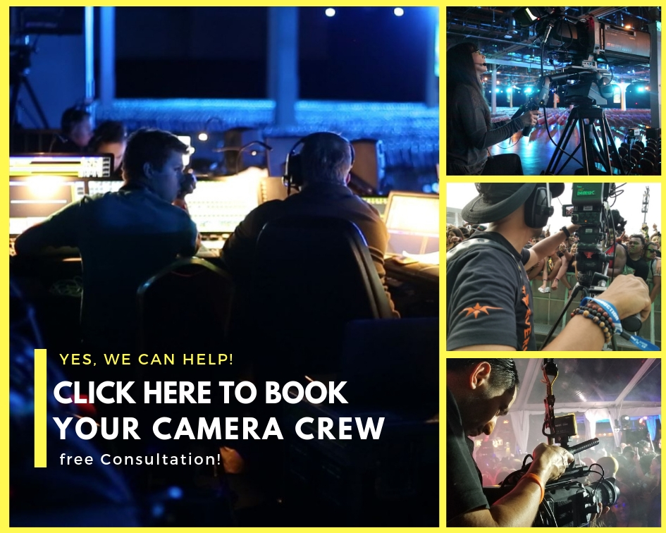 Need to Hire a Camera Crew? Here's what you [need to know ]