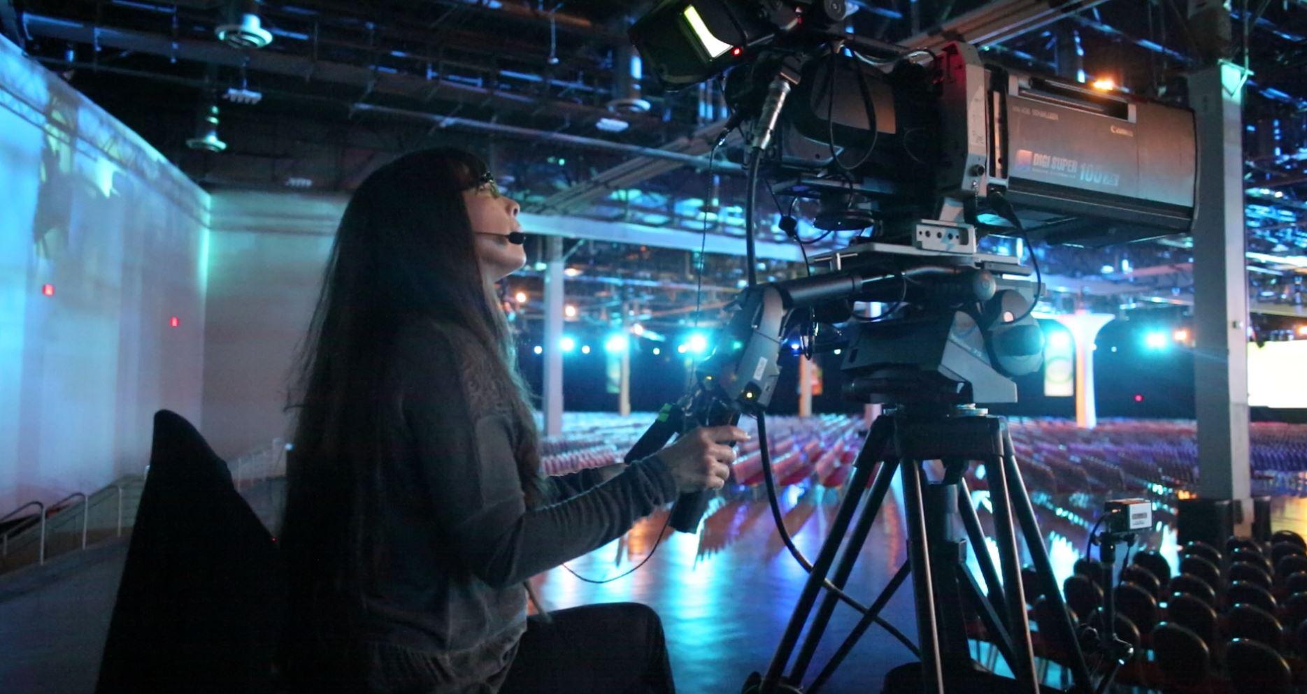 Videographer Prepping Camera Gear 145