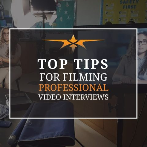 Top Tips for Filming Professional Video Interviews