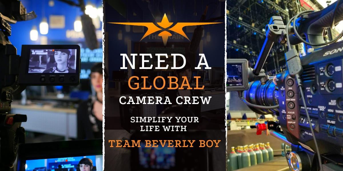 Camera Crew Booking Agency - Camera Crewing Company