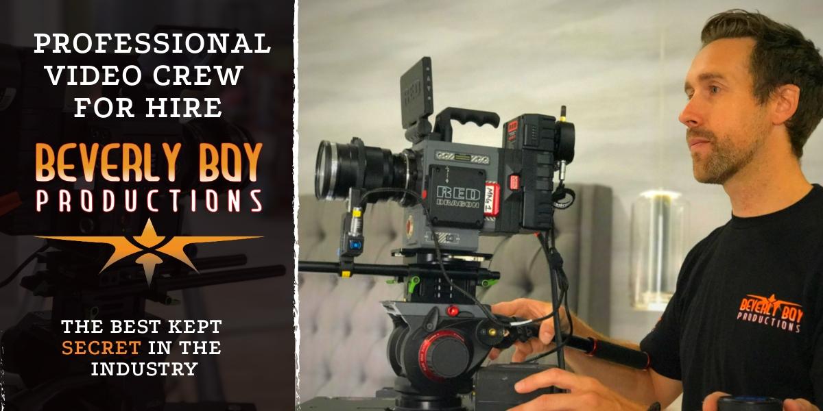 Professional Video Crews