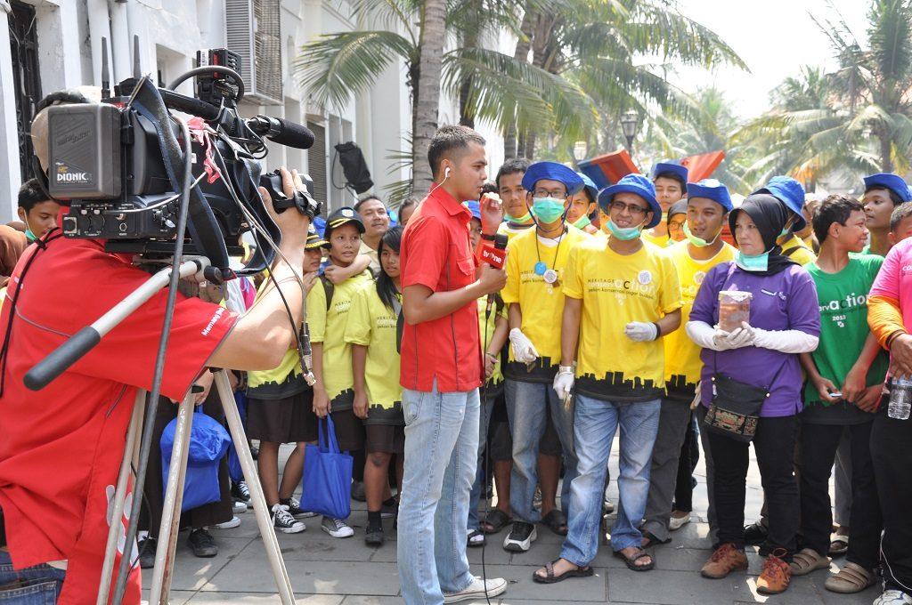 Camera Crew in Jakarta