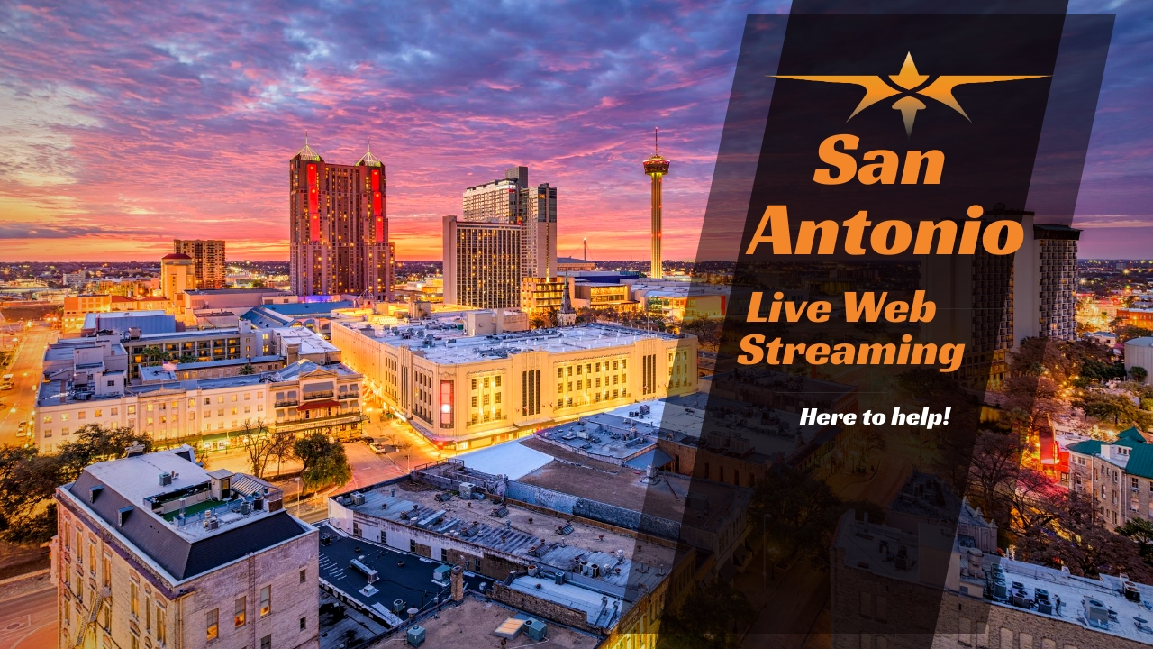 San Antonio Live Web Streaming