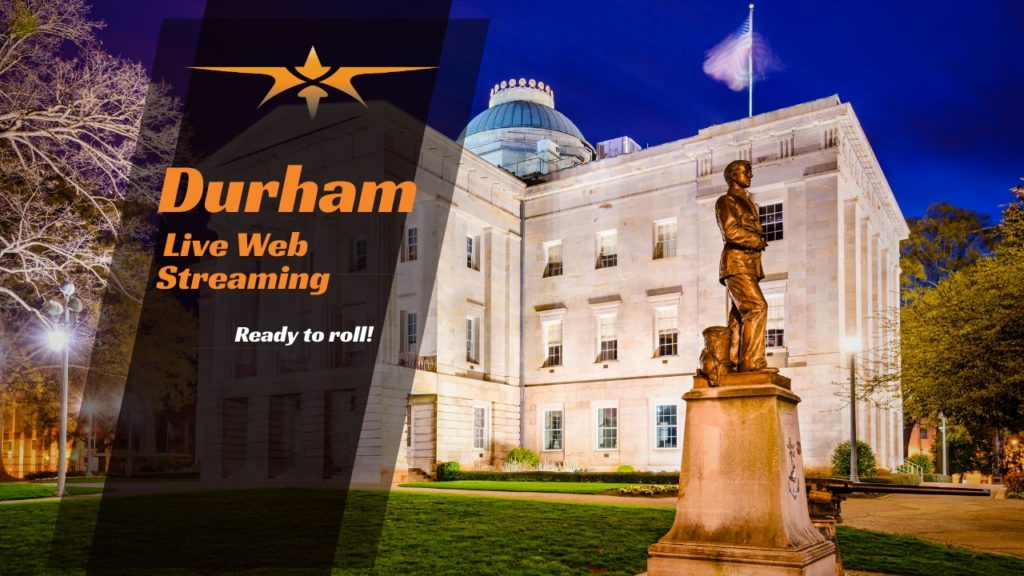 Durham Live Web Streaming