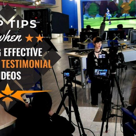 Top Tips when Filming Employees Testimonial Videos