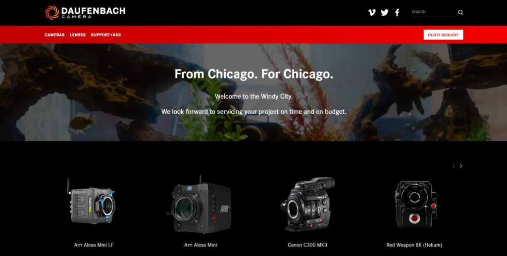 Chicago Camera Rentals - Daufenbach