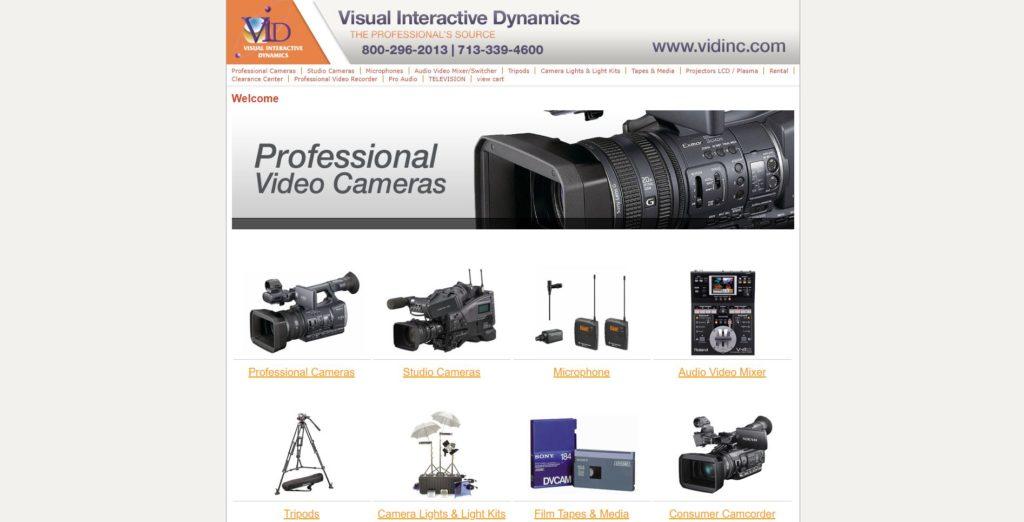 Houston Camera Rentals - Vid Inc
