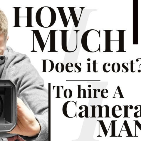 How much does it cost to hire a cameraman