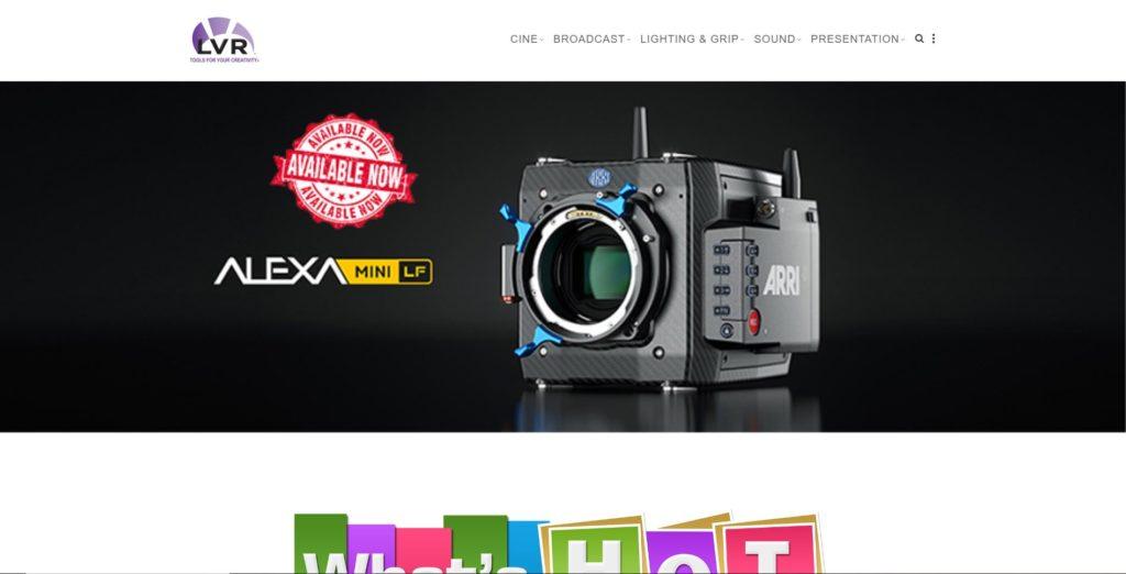 New York Camera Rentals - LVR