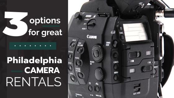 Philadelphia Camera Rentals 1