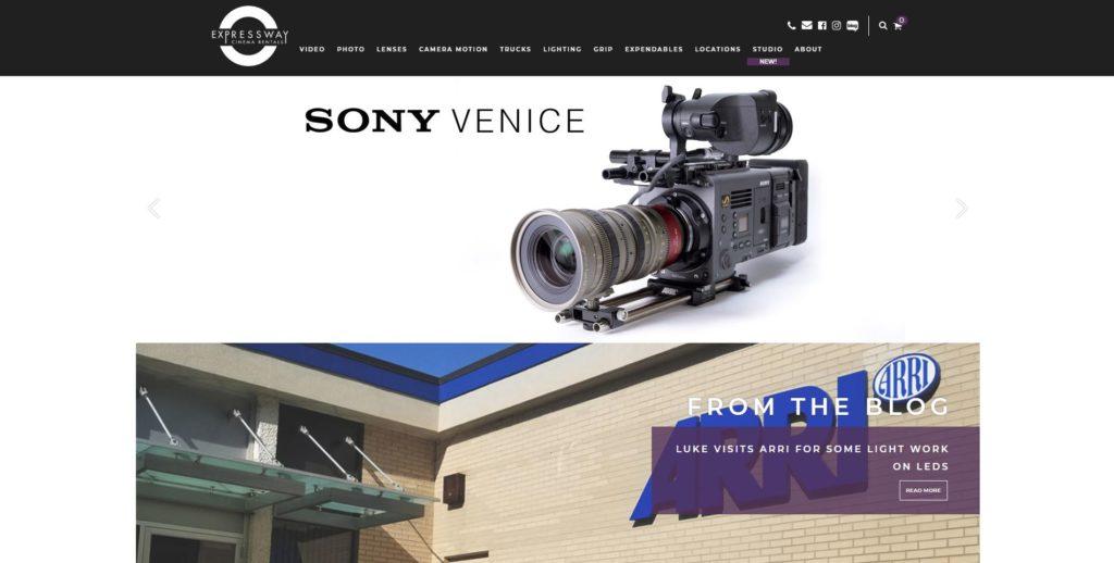 Philadelphia Camera Rentals - Expressway Cinema Rentals