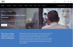 ibm, When streaming video means business