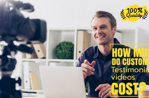 customer testimonial video cost