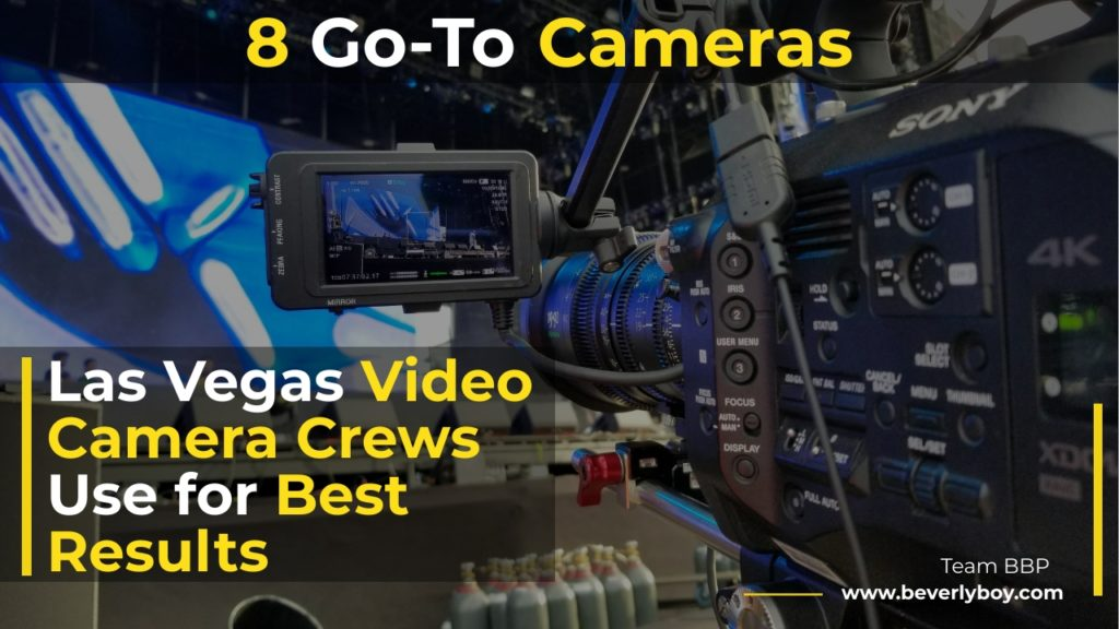 Las Vegas Video Camera Crews