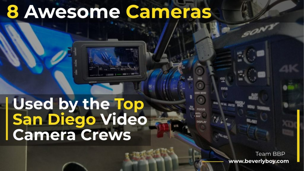San Diego Video Camera Crews