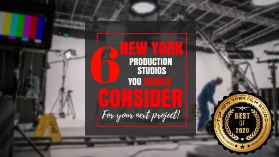 Top 6 New York film studios