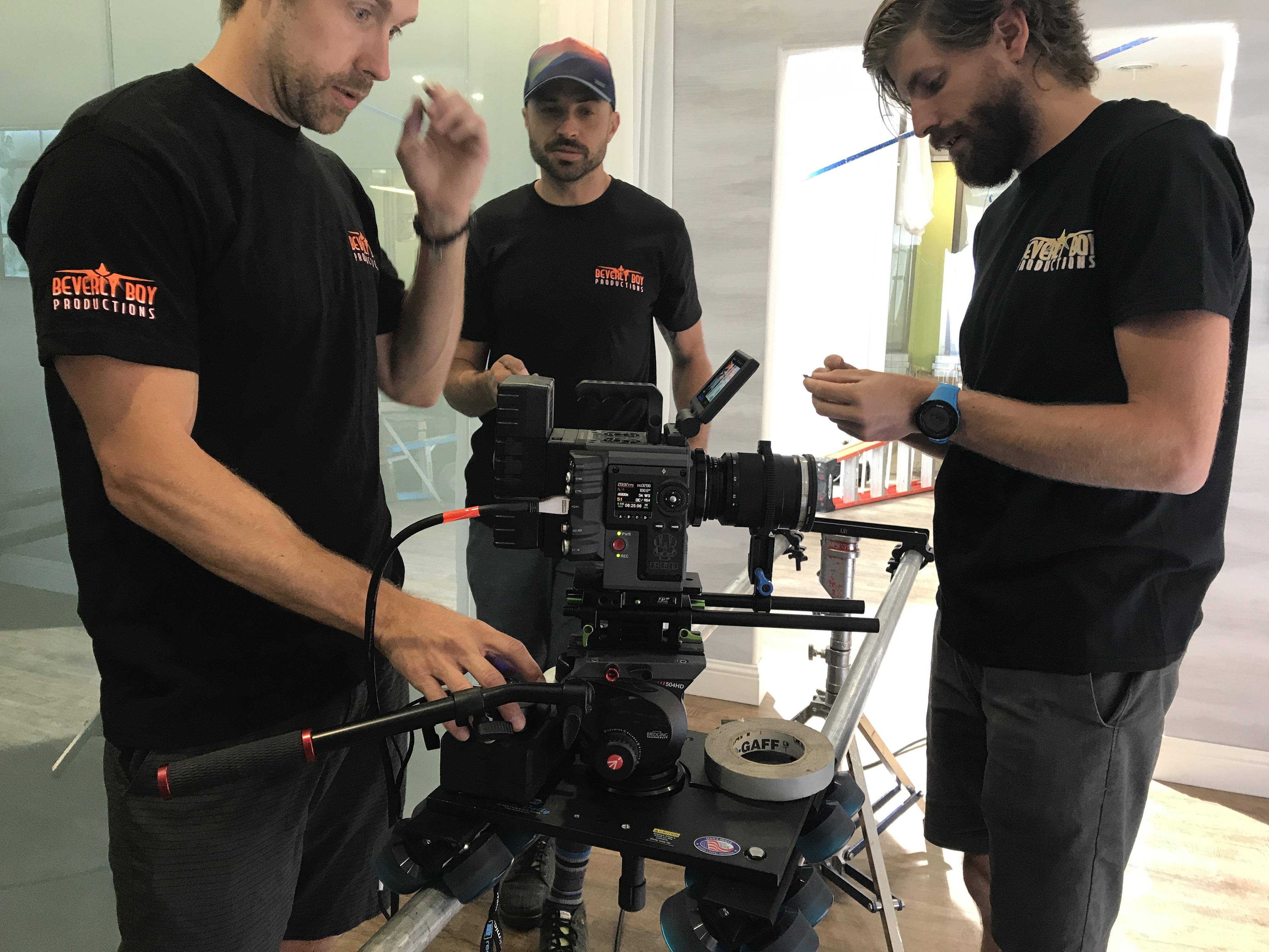 Videographer Prepping Camera Gear 183