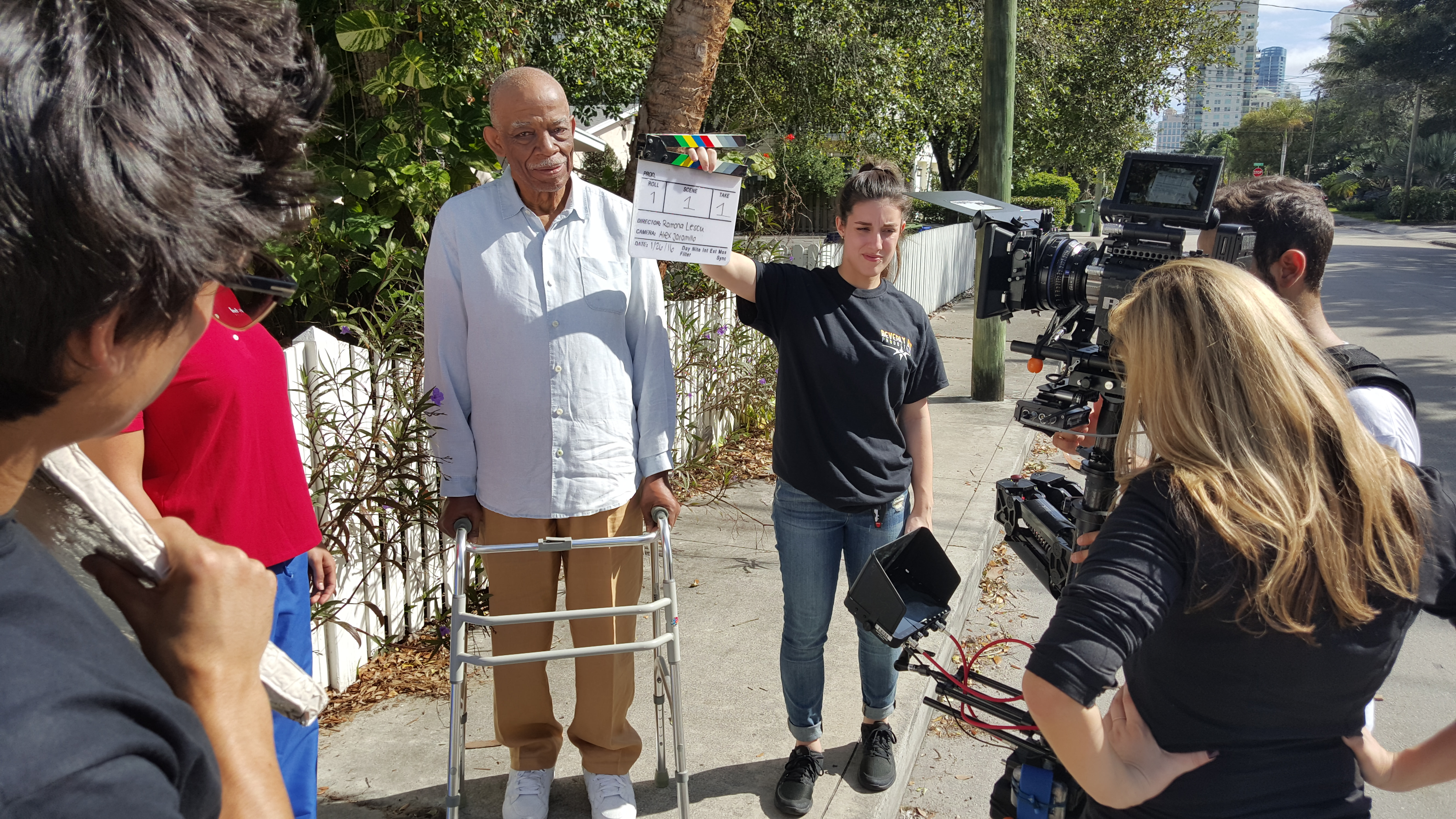 Videographer Prepping Camera Gear 192