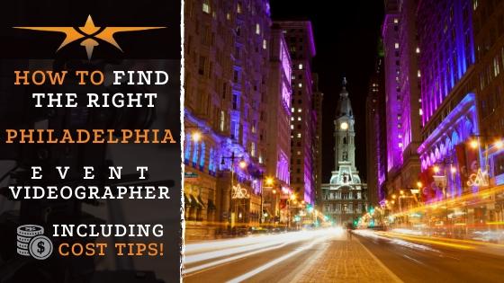 Philadelphia Event Videographer
