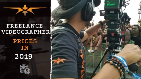 Freelance Videographer prices in 2019