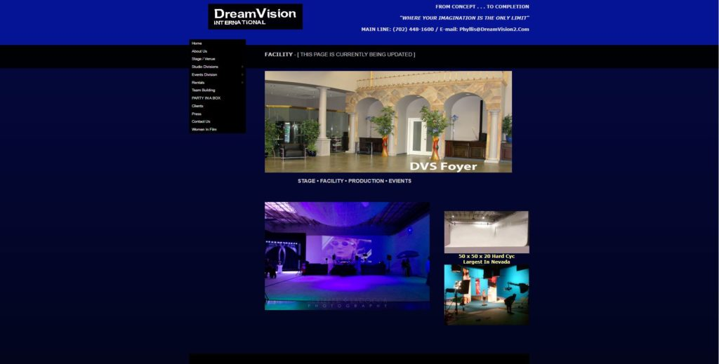 Las Vegas Film Studios - DreamVision International