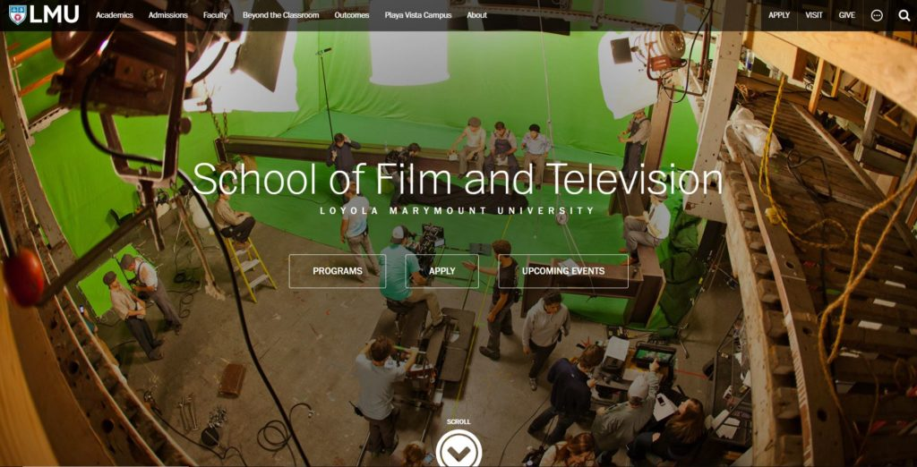 Los Angeles Film Schools - Loyola Marymount University