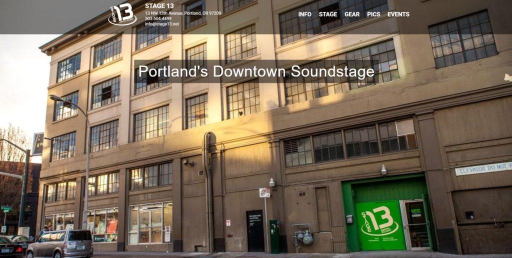Portland Film Studios - Stage 13