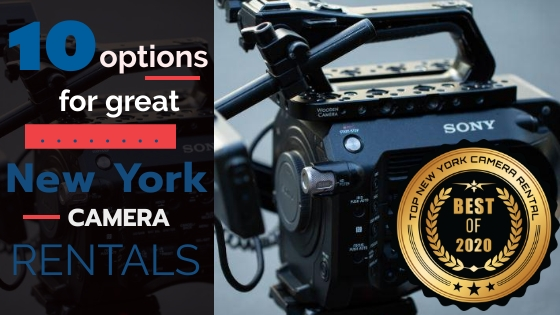 Top 10 New York Camera Rentals