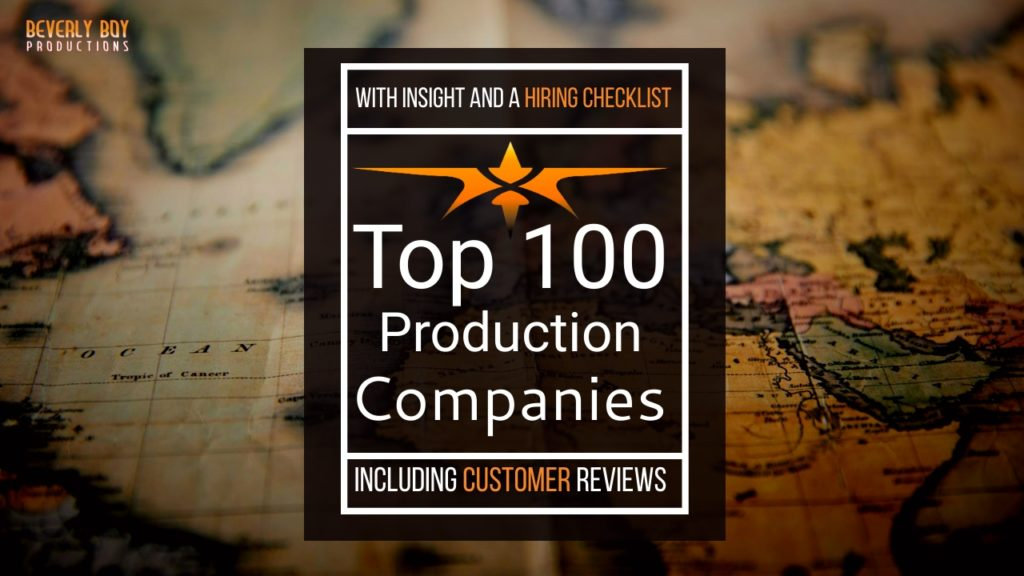 Top 100 Video Production Companies - Beverly Boy
