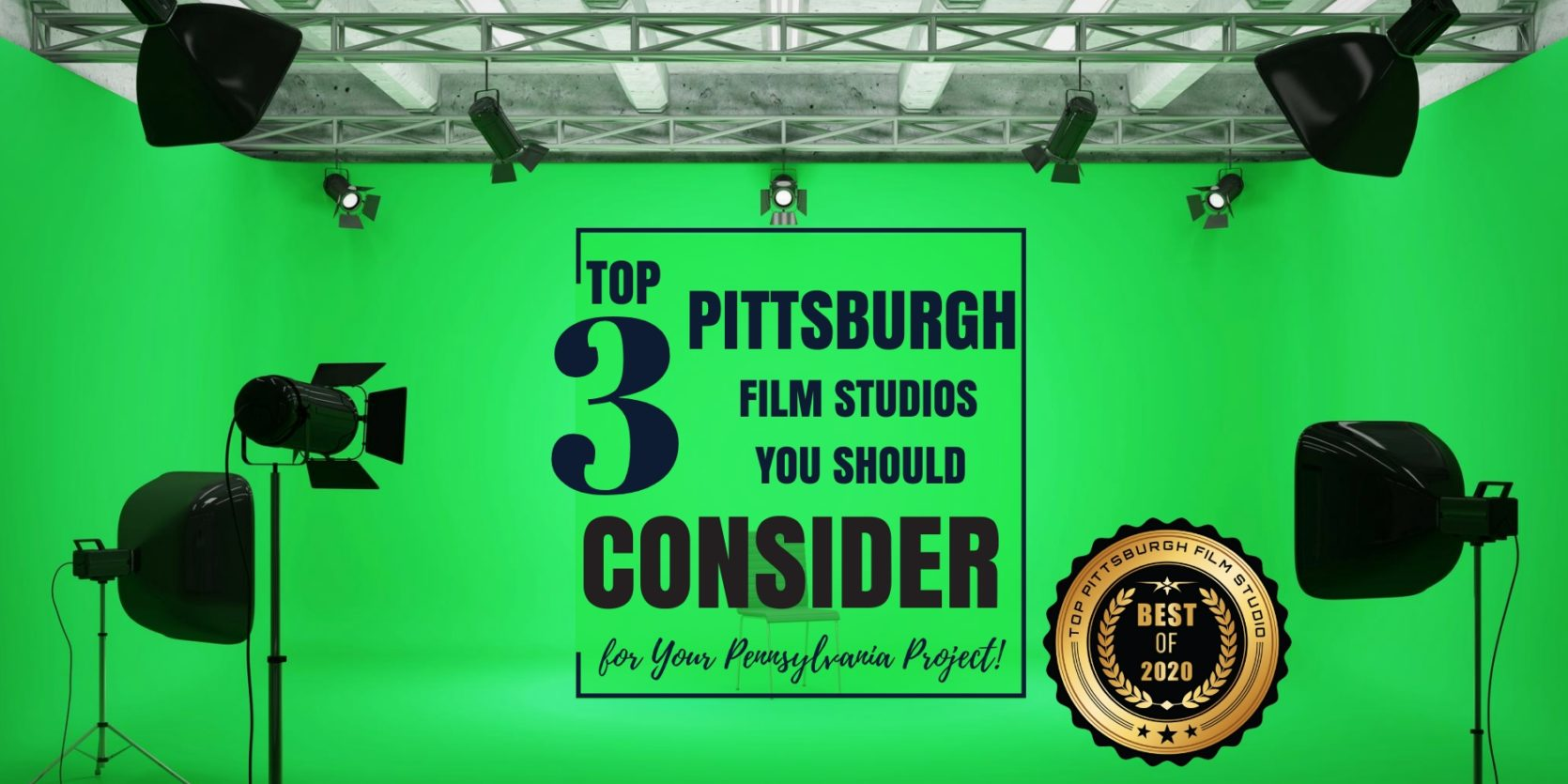 Top 3 Pittsburgh Film Studios