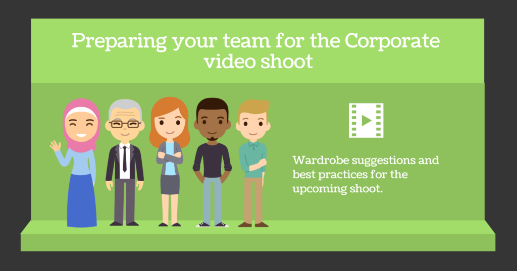 preparing your team for the shoot