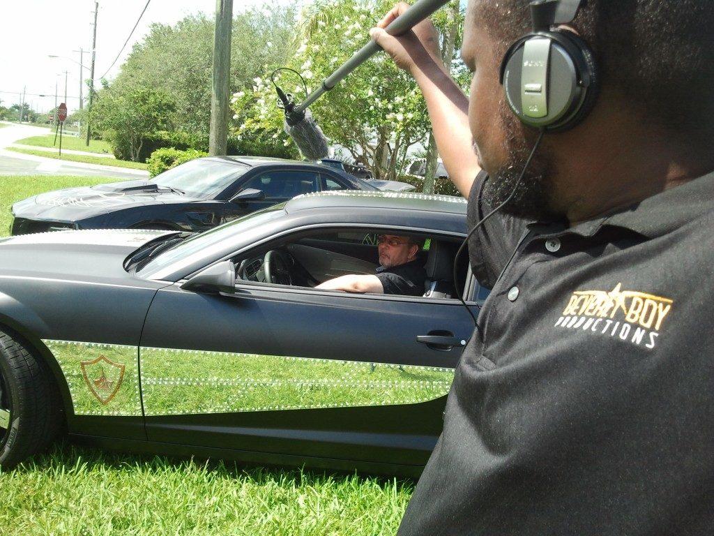 Videographer Prepping Camera Gear 220