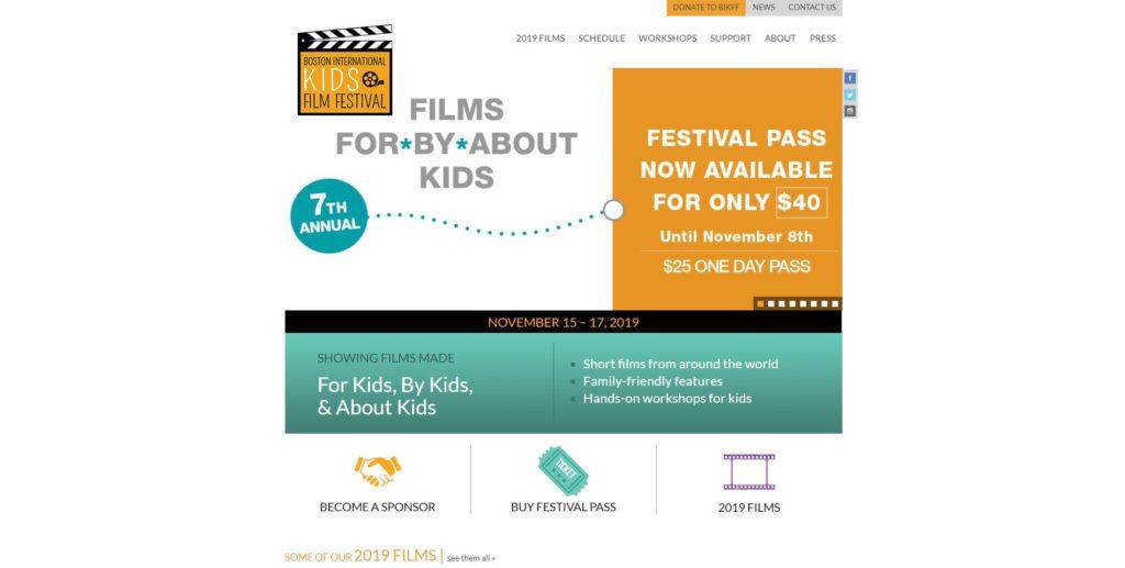 Boston Film Festivals - Boston International Kids Film Festival