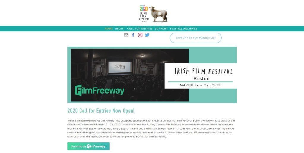 Boston Film Festivals - Irish Film Festival, Boston