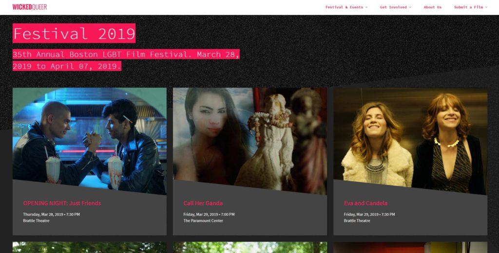 Boston Film Festivals - Wicked Queer Film Festival